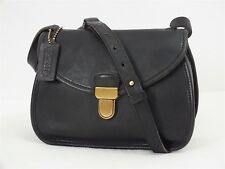 EUC Vtg Coach Camden Ashland Crossbody/Shoulder Black Leather Bag #2239 USA