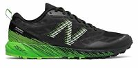 New Balance Men's Summit Trail Shoes Black with Green