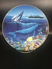 Fluid Grace From Symphony Of The Sea - Hamilton Collector Plate ~