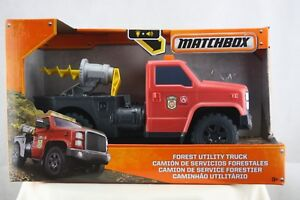 Matchbox Plastic Forest Utility Truck Light Sound Wildland Fire Toy