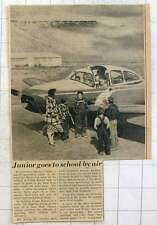 1953 Children At Crane School, Harney County Go To School By Air