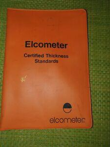 Elcometer Calibration Foil Set