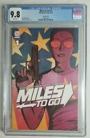 MILES TO GO #1 CGC 9.8 GRADED AFTERSHOCK COMICS 2020 Ratio Variant 1:10 Cover