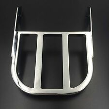 Chrome Sissy Bar Luggage Rack For Honda VTX 1300C/1800C/1800F [Check Fitment]