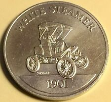 Franklin Mint - Sunoco Antique Car Collection 1901 White Steamer FREE SHIPPING