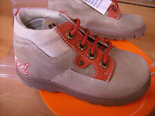 Scarpe scarponcino shoes inverno bambino CHICCO NR. 22 in pelle beige NUOVE!