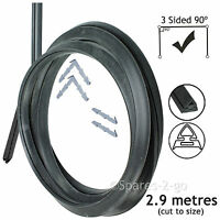 2.9m Silicone Door Seal for Tricity Bendix 3 Sided Oven Cooker + all Clips