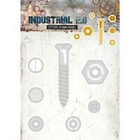 Studio Light Industrial 2.0 Cutting /& Embossing Die Hexagon Gear Frame 3pcs