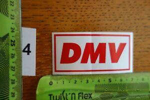 Alter Aufkleber Motorrad Motorsport DMV Verband