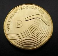 2019 Great Aussie Coin Hunt - UNC $1 coin 'B' is for Boomerang