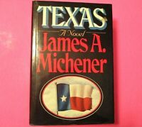Texas by James A Michener, Random House NY,1985,1st Edition 2nd Print Dust Cover