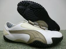 PUMA Mostro Mens Trainers Shoes Size UK 6 ,EUR 39 White Leather Rare