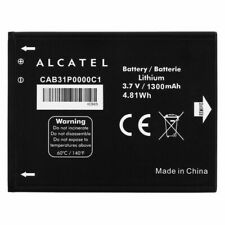 GENUINE ALCATEL CAB31P0000C1 BATTERY FOR  OT POP C3 / OT 4033A / 4033X 1300mAh