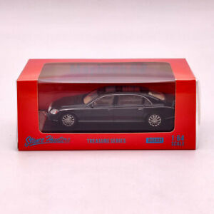 1:64 Stance Hunters Maybach 62 Metallic Black limited Diecast Models Collection
