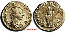 Ancient Roman AD 218-224/5 Julia Maesa AR Denarius Nice Extremely Fine Condit.
