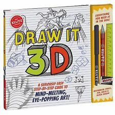 Draw It 3D by Klutz Editors (2016, Hardcover)