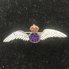 Royal Air Force Sterling Silver Lapel Badge