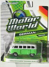 GREENLIGHT MOTOR WORLD SERIES 7 VOLKSWAGEN SAMBA BUS #1 rr