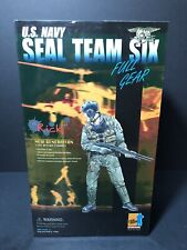 "1/6 Dragon 12"" US Navy Seal Team Six Full Gear Rick Action Figure"