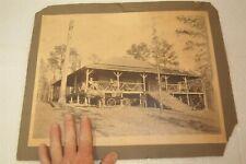 antique picture cottage cabin ranchers plantation 1800's old post civil war