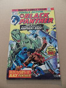 Jungle Action 17 .Black Panther . Killmonger App .HOT! Marvel 1975 . FN +