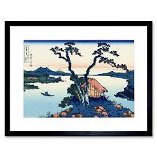 Katsushika Hokusai Lake Suwa In Shinano Province Framed Wall Art Print