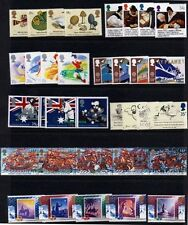 GB GREAT BRITAIN 1988 Complete Commemorative Year, 8 sets Mint NH