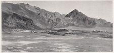 D8513 Eritrea - Estesi depositi di Sali di Potassio e Magnesio - 1936 old print
