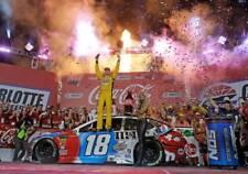 NASCAR SUPERSTAR KYLE BUSCH WINS COCA COLA WORLD 600  8X10 PHOTO W/BORDERS