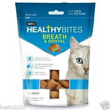 MARK & CHAPPELL HEALTHY BITES - BREATH & DENTAL - TREATS FOR CATS & KITTENS 65g