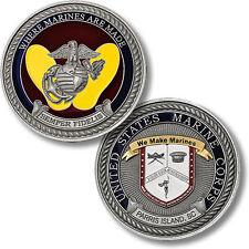U.S. Marine Corps / Recruit Depot Parris Island, SC - USMC Challenge Coin
