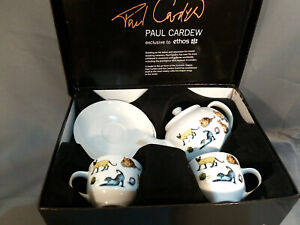 PAUL CARDEW Cat Teapot Kit-Tea 2007y