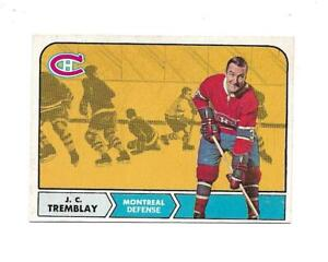 1968-69 OPC:#59 J.C. Tremblay,Canadiens