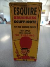 Vintage Esquire Brushless Scuff-Kote For Children's Shoes RED