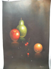 wall Art canvas color Hand oil paint Modern Abstract Picture Duotone 24x36 new