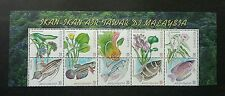 Freshwater Fish Of Malaysia 1999 Flower Wildlife Pond Lotus (stamp title) MNH