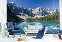3D Landscape Lake R1085 Wallpaper Wall Mural Self-adhesive Commerce Amy