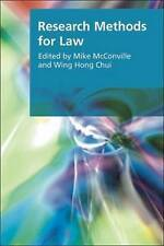 Research Methods for Law by Edinburgh University Press (Paperback, 2007)