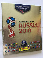 ALBUM PANINI WORLD CUP COUPE 2018 RUSSIA WC NEUF SUISSE SWISS GOLD + 18 STICKERS