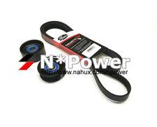 GATES DRIVE BELT TENSIONER IDLER PULLEY KIT FOR Holden Jackaroo 98-04 6VE1 3.5L