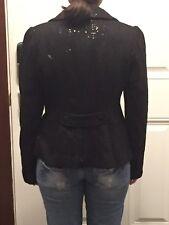 NEW Guess Cristina Blazer Black Sequin - Size XS