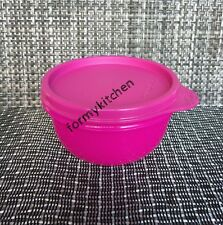 Tupperware Ideal Snack Bowl 8oz. Container Neon Pink New!!!