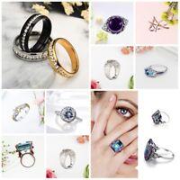 Korean Style Ring Wedding Ring m Man Women Ladies Ring Vintage Ring Size 5_13MA+