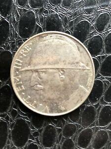 20 lire 1928 R Victor Emmanuel III Italie - Argent VITTORIO EMANUELE III  ttbe