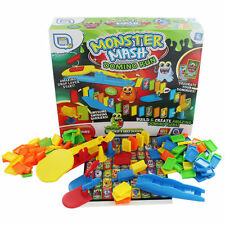 Grafix Monster Mash Domino Run Rally Set Traditional Game Fun Toy