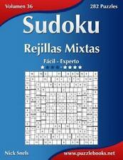 Sudoku: Sudoku Rejillas Mixtas - de Fácil a Experto - Volumen 36 - 282...