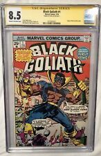 Sealed Marvel Black Goliath 8.5 Signed By Stan Lee 1st Whiz Kids & Atom-Smasher!