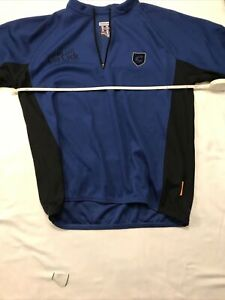 Cannondale Cycling Jersey Blue And Black Size Large