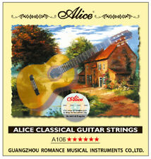 Alice A106 Klassische Konzertgitarren Saiten, Nylon, Hard Tension