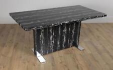 Magnus Black Marble Dining Room Table - 160cm